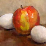 oilpainting-apple-egg