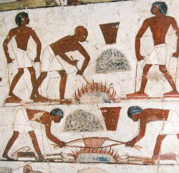 エジプト壁画 レクミラ墓